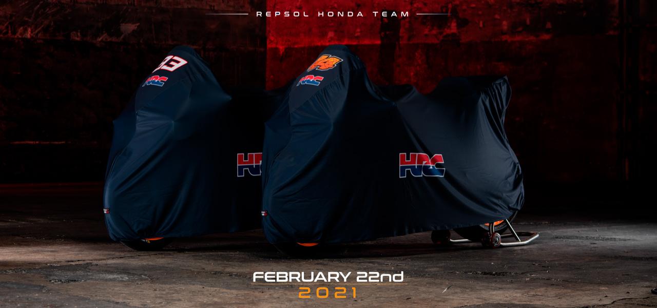 Revive la presentación del Equipo Repsol Honda 2021📡