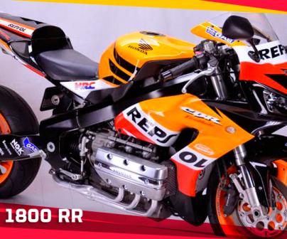 Honda CBR 1800 RR Repsol by Cedric Smith