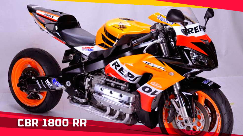 Honda CBR 1800 RR Repsol by Cedric Smith