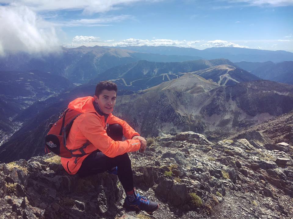 Marc Márquez y sus consejos para salir a la montaña