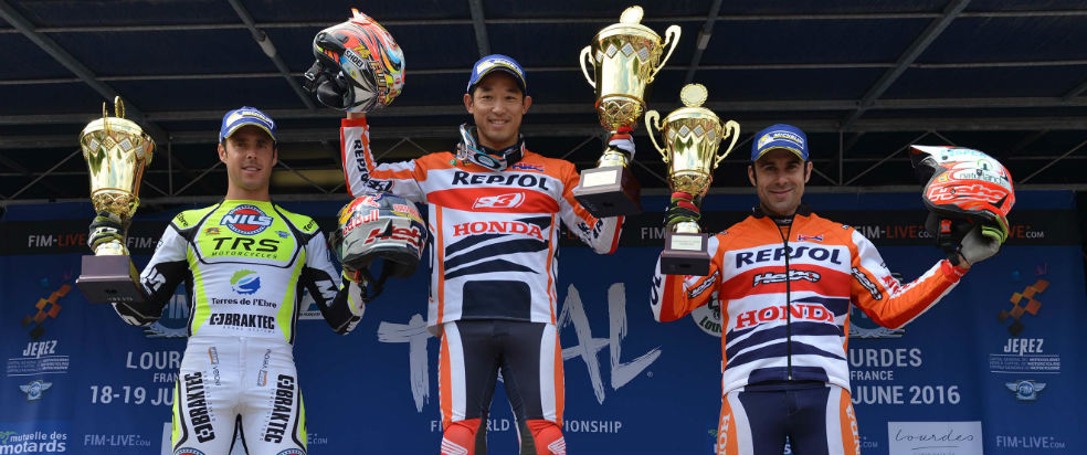 Wins for Bou and Fujinami at the French Trial