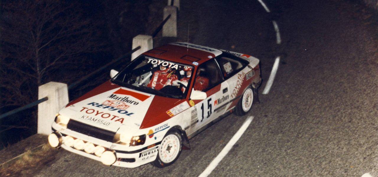 1989, el debut de Repsol en el Mundial de Rallys
