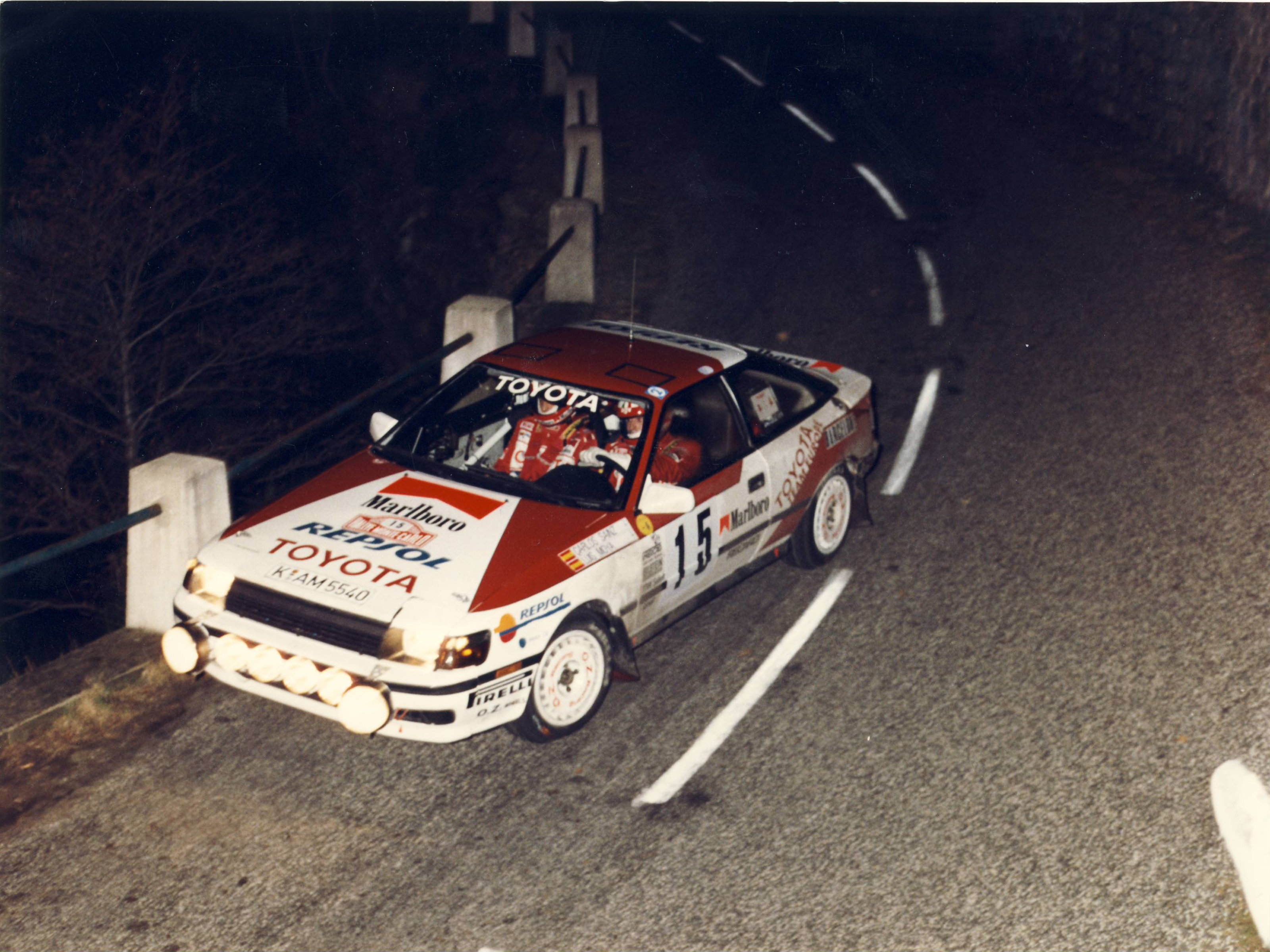 1989 – Repsol's debut in the World Rally Championship