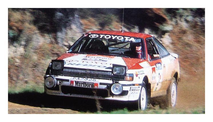 Carlos Sainz en el Rally de Nueva Zelanda