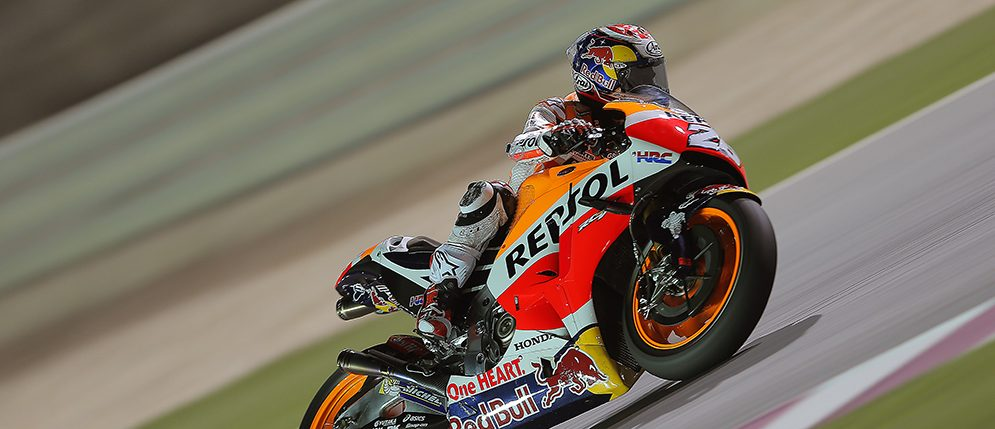 The Repsol Honda team concludes its preseason in Qatar