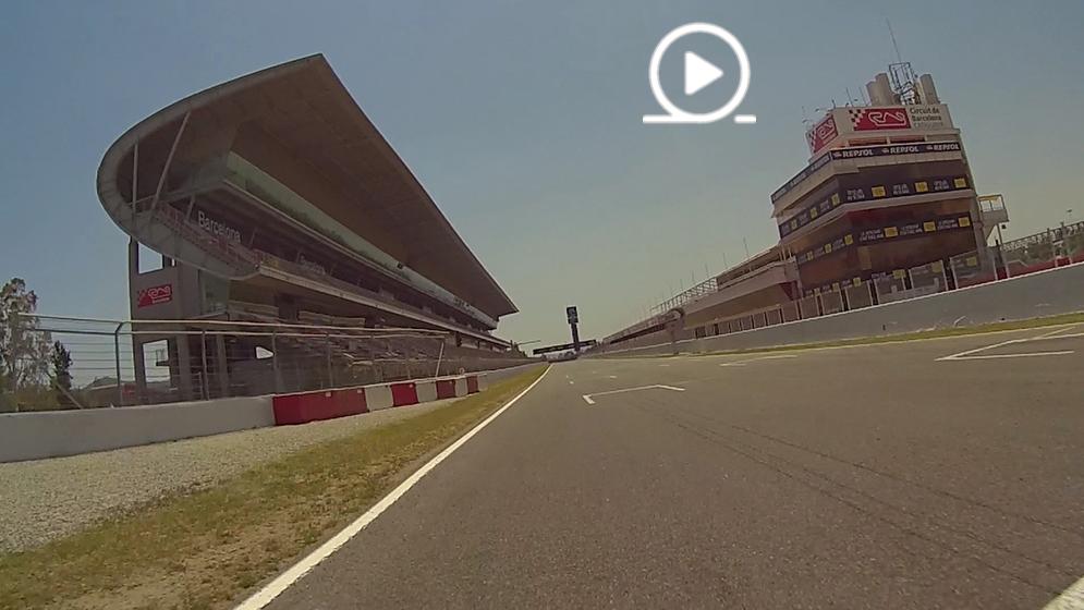 El circuito de Barcelona-Catalunya, como nunca antes lo habías visto