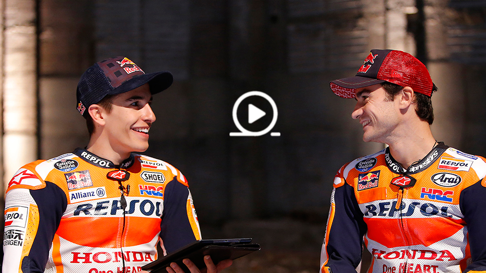 Marc Márquez and Dani Pedrosa, 2 Millennials going for victory at the Valencia GP