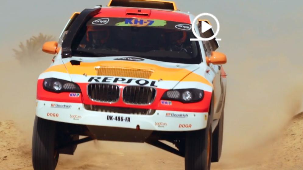 Isidre Esteve & Repsol Rally Team heading to the Dakar