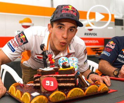 ¡Feliz 25 cumpleaños, Marc Márquez!