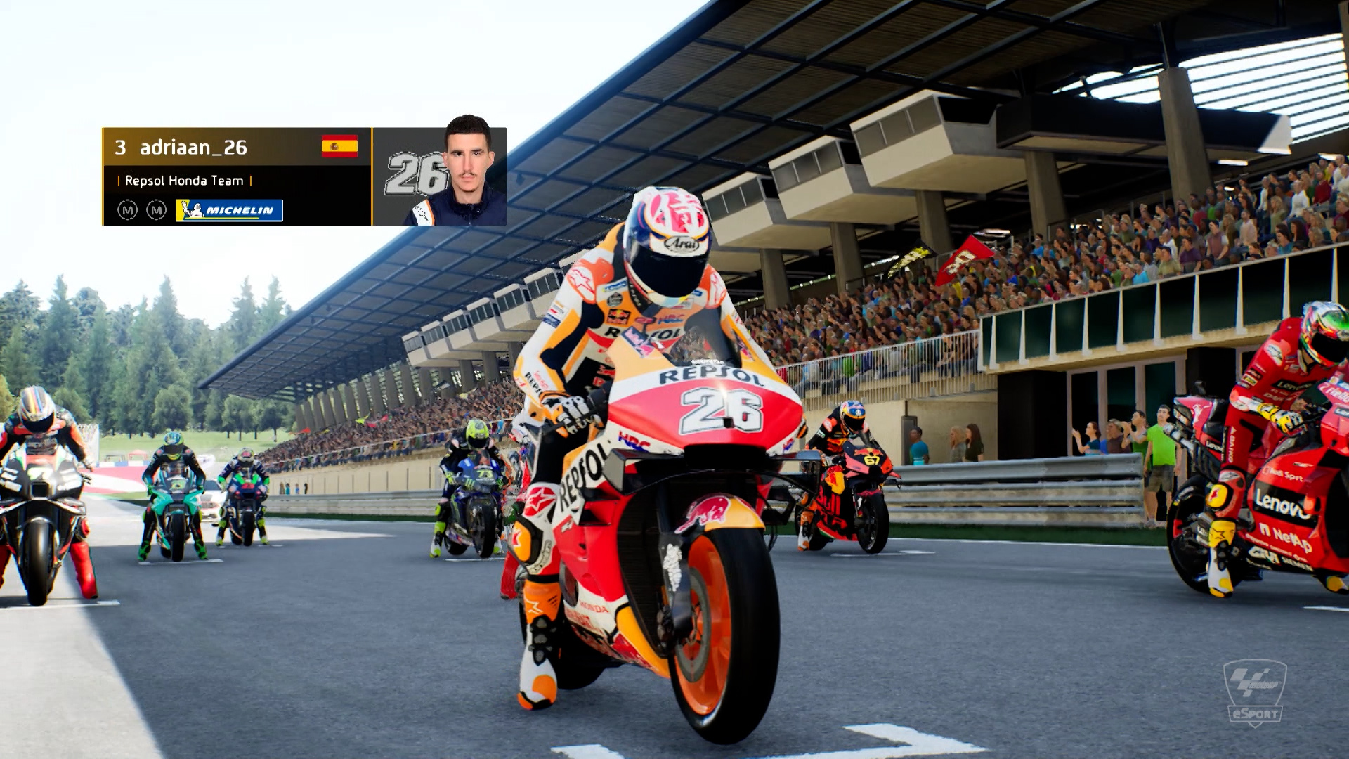 Important points haul for defending MotoGP eSports Champion