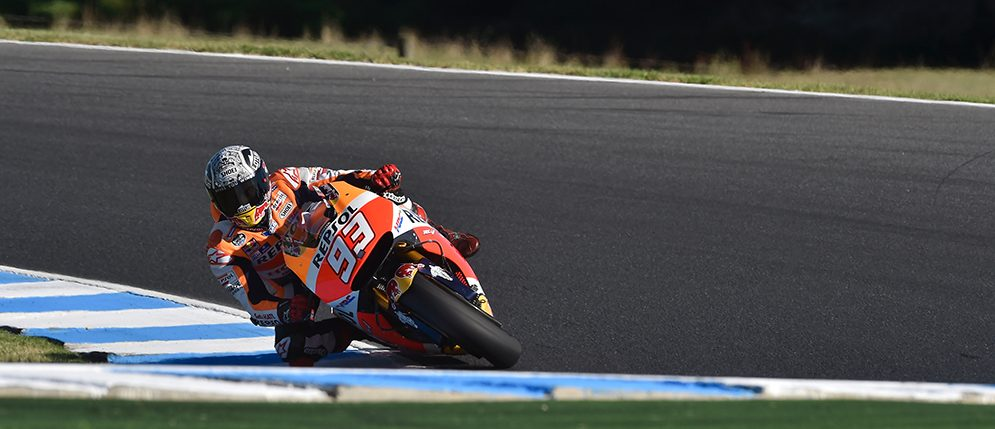 Positive day of work in mixed conditions at Phillip Island