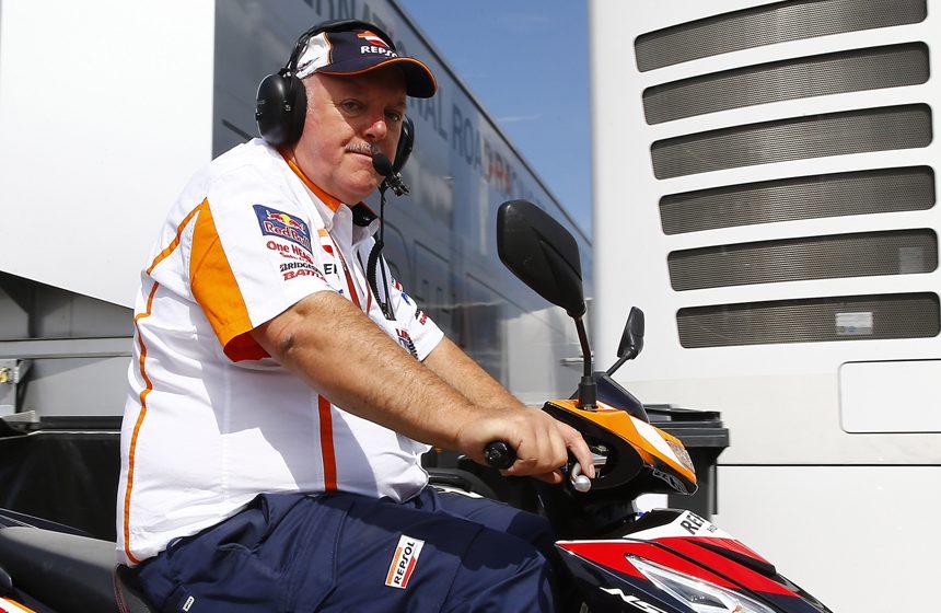 Roger Van Der Borght, the coordinator behind the Repsol Honda Team