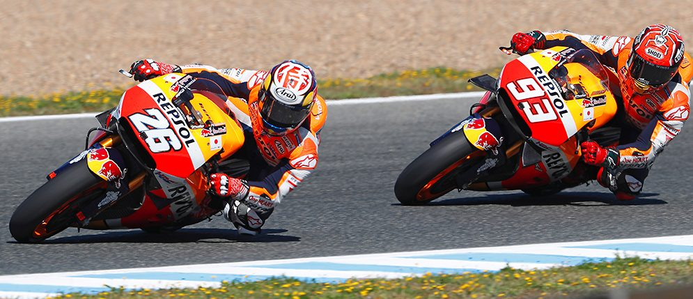 Productive day of testing for Repsol Honda in Jerez