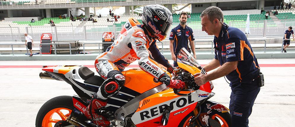 The Repsol Team gets the most out of the testing at Sepang