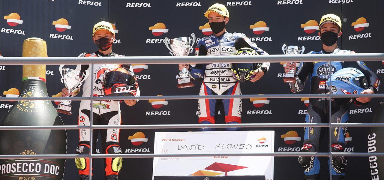 Acosta, Montella y Alonso, vencedores en la segunda cita del FIM CEV Repsol en Portimao
