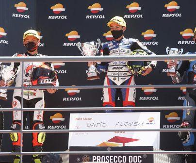 David Alonso vencedor en el Fim Cev Repsol de Portimao