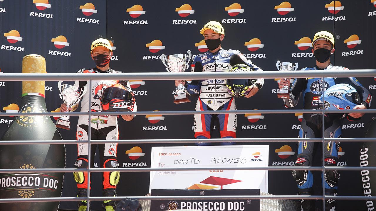 Acosta, Montella and Alonso win second FIM CEV Repsol event in Portimao