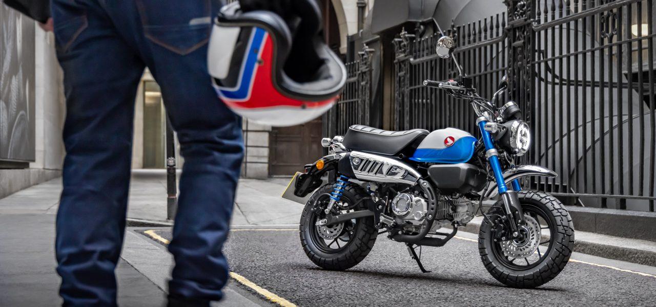 La Honda Monkey 125, características de una moto singular y divertida