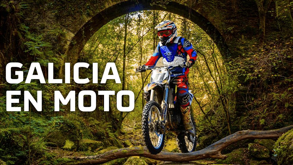 Galicia en moto, otra porción del paraíso