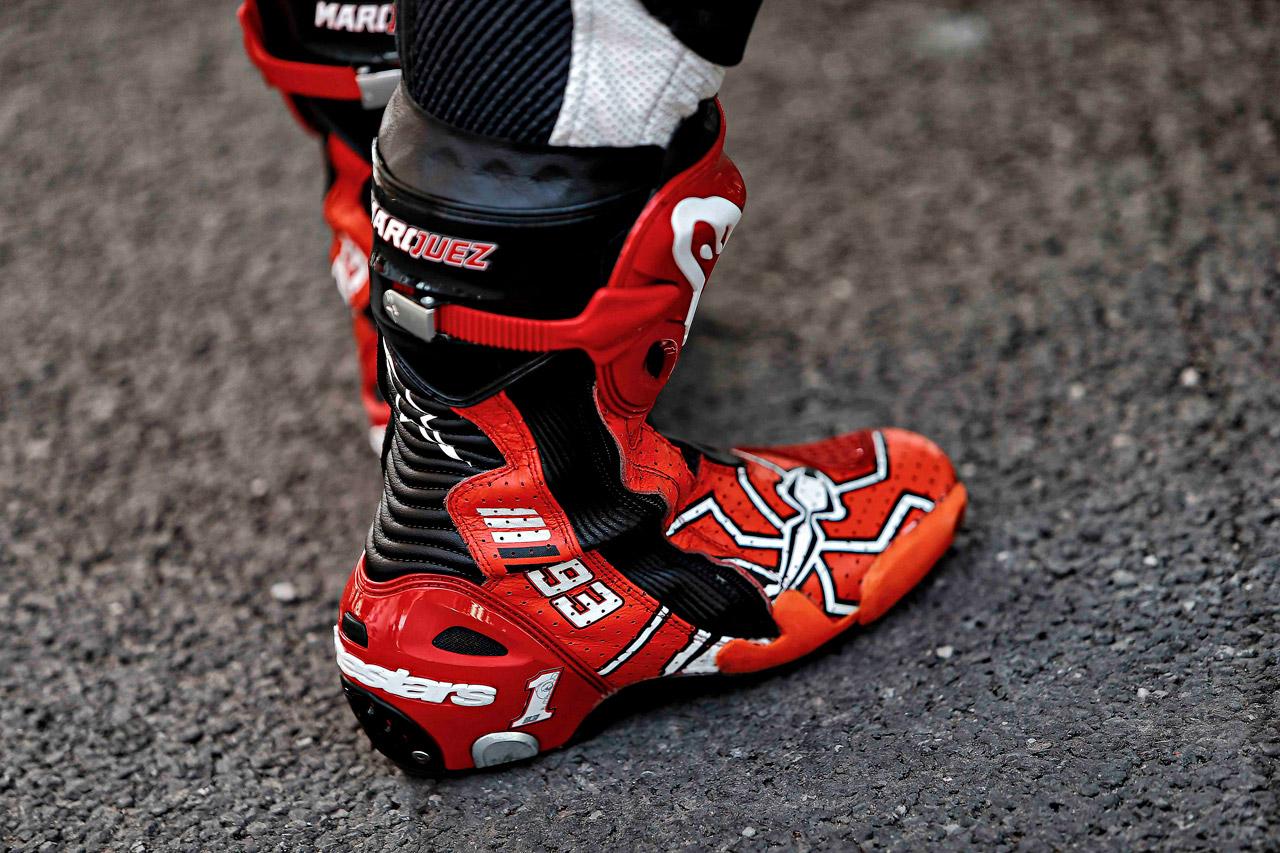 botas de Marc Márquez