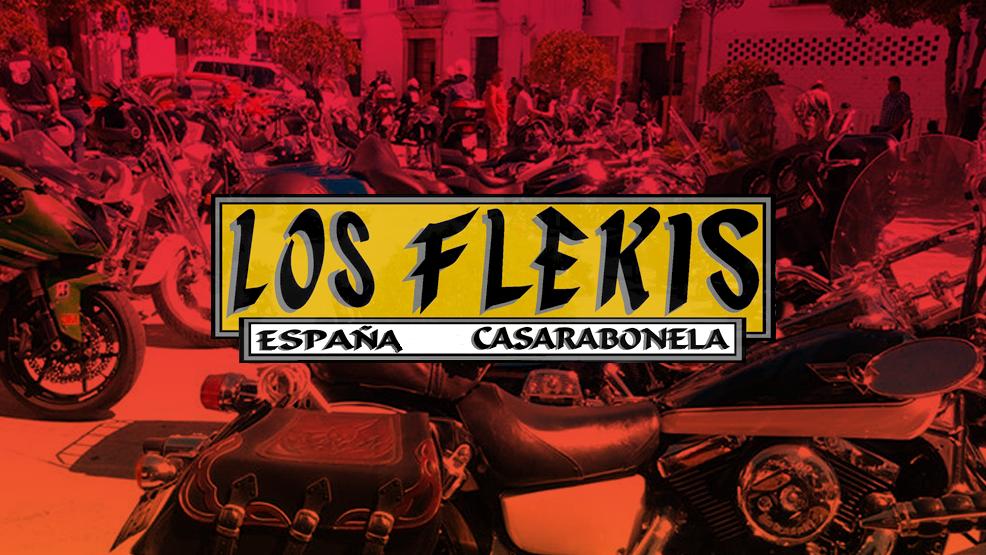 Los Flekis, la Asociación de motos de Casarabonela