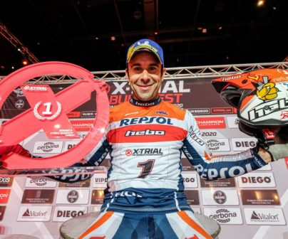 Toni Bou takes narrow victory in Budapest to increase championship lead>