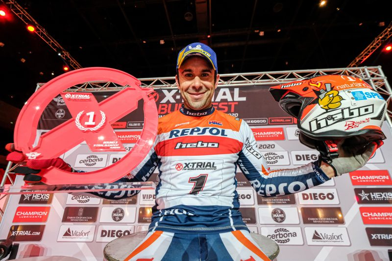 Toni Bou takes narrow victory in Budapest to increase championship lead