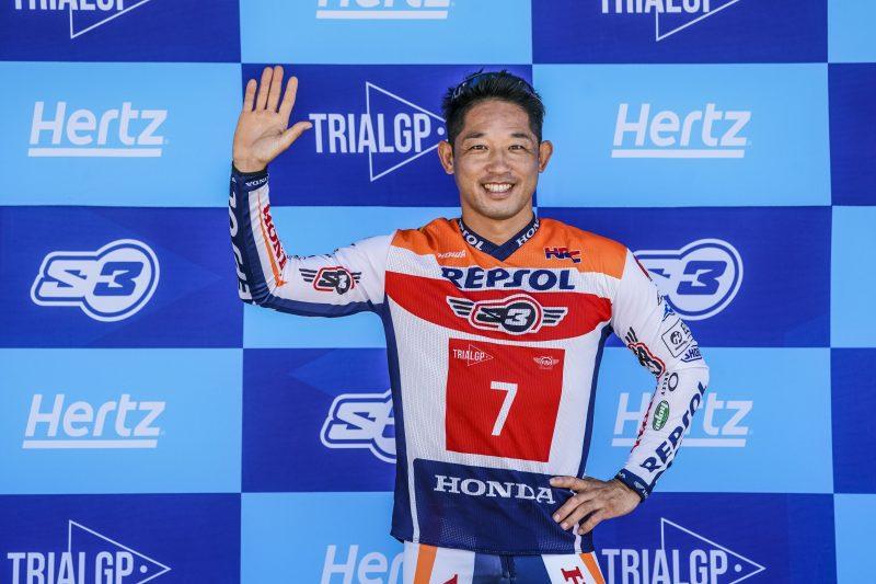 Takahisa Fujinami se despedirá del campeonato del Mundo de Trial este fin de semana en Portugal
