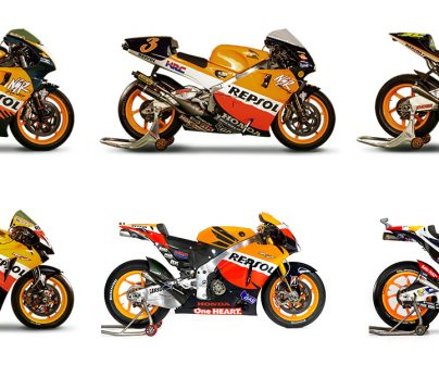 Download and colour in the six world champion motorbikes>