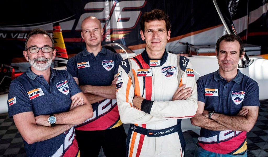 ¿Cómo se prepara Juan Velarde para la Red Bull Air Race?