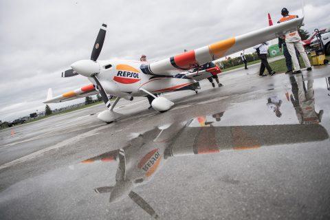 Avión Repsol de la Red Bull Air Race