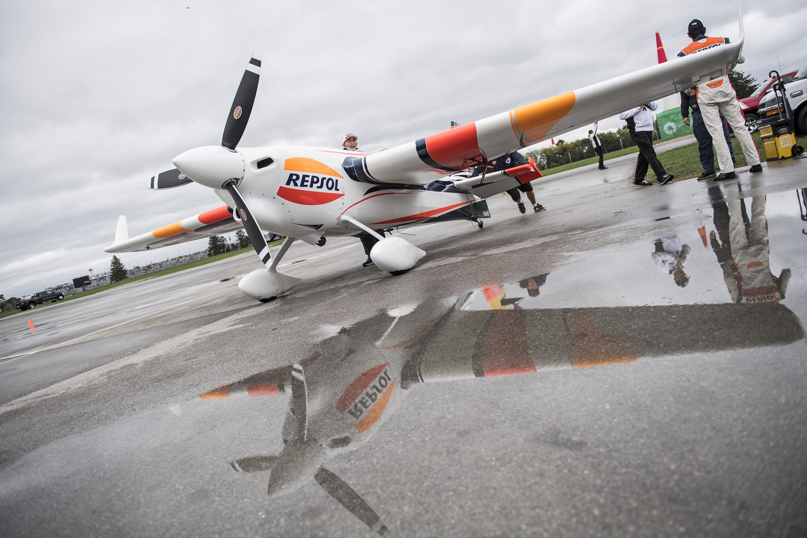 Avión Repsol de la Red Bull Air Race
