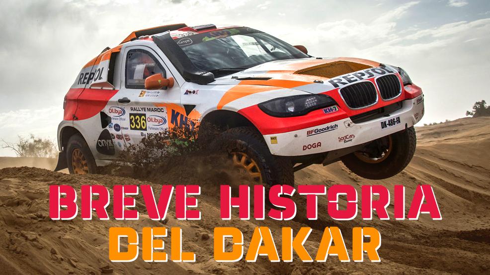 Historia del Dakar en seis minutos