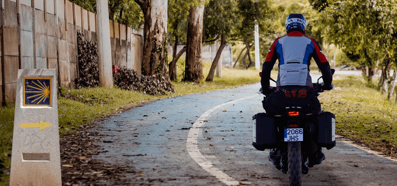 El Camino de Santiago en moto
