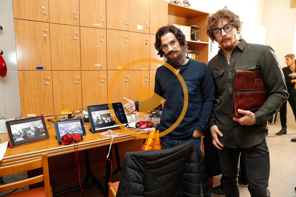 La mejor cámara oculta de Marc Márquez y Dani Pedrosa, en un colegio