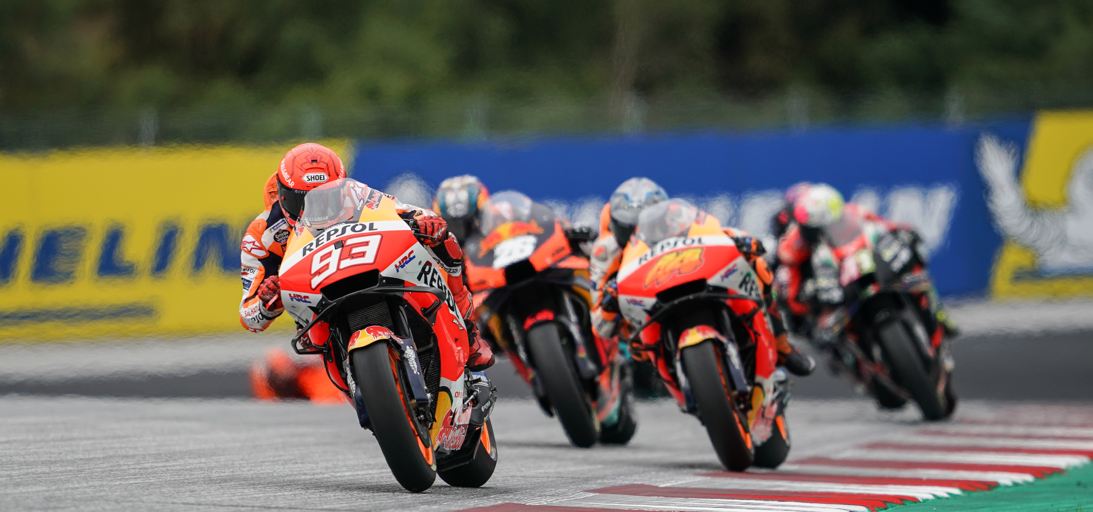 Marc Márquez finishes Styrian Grand Prix eighth
