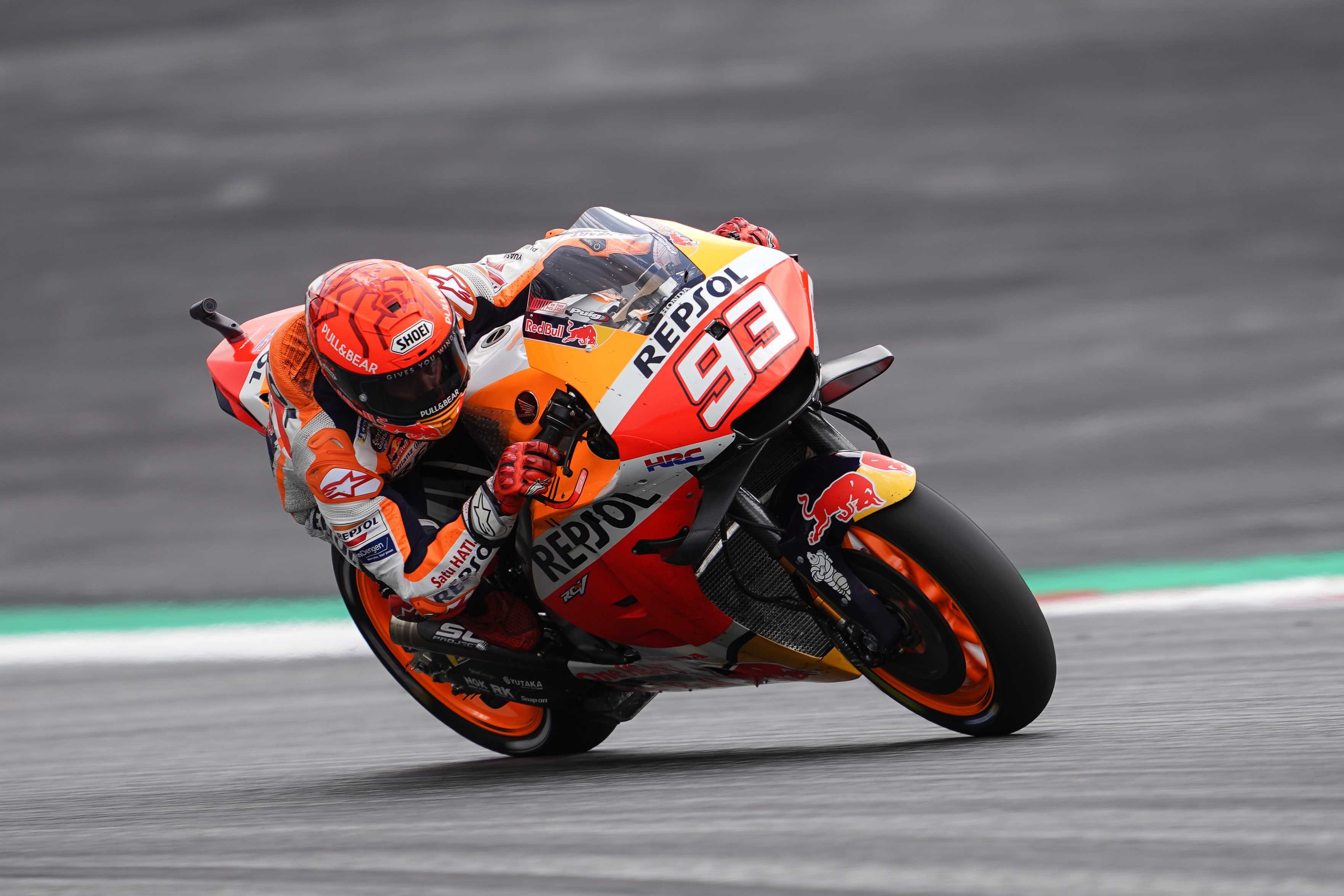 Márquez competes for victory in Austria