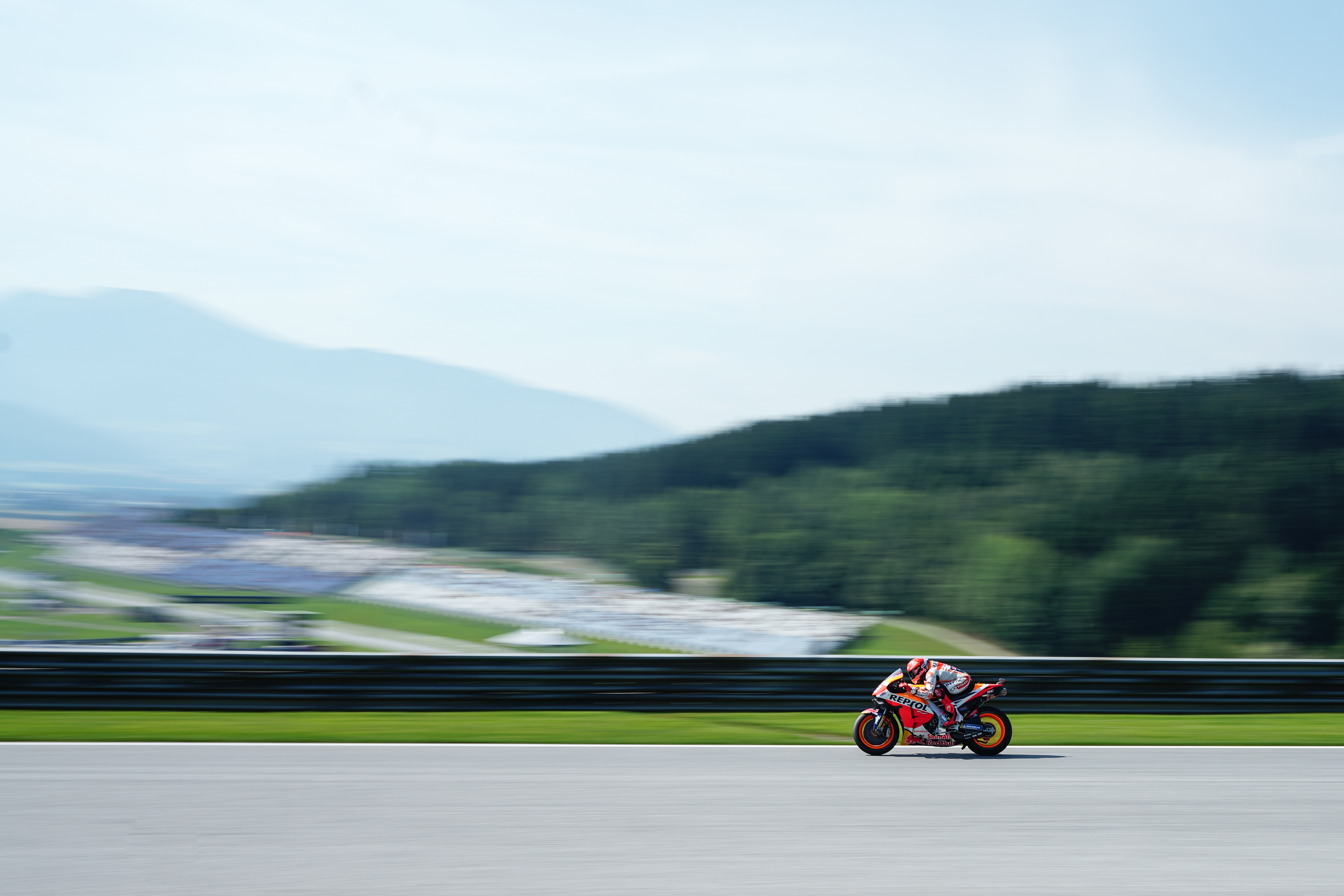 Repsol Honda Team end first day in Spielberg satisfactorily