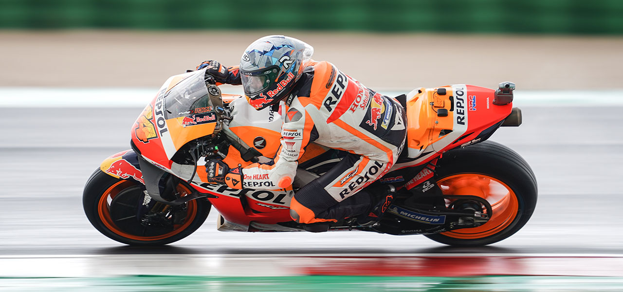 Espargaró and Márquez among the top ten at Misano