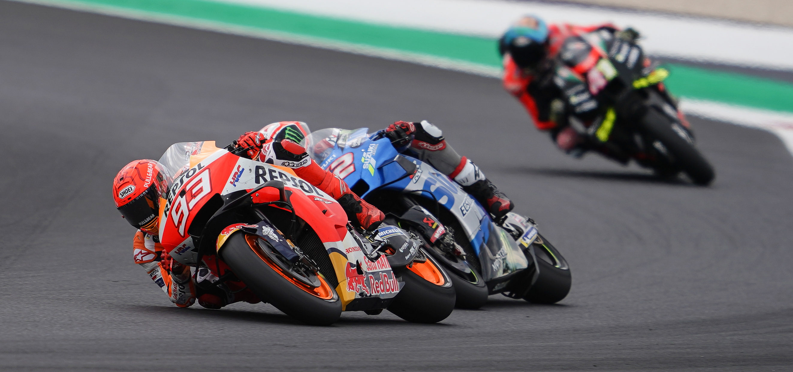 Marc Márquez finishes fourth at Misano