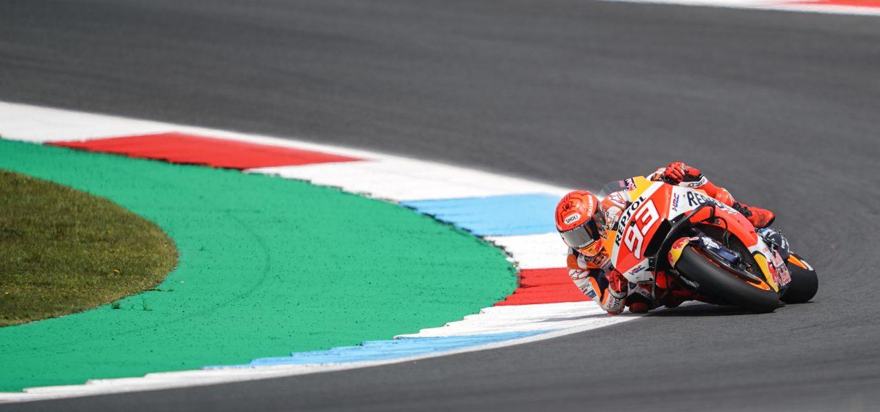Márquez climbs thirteen places at Assen