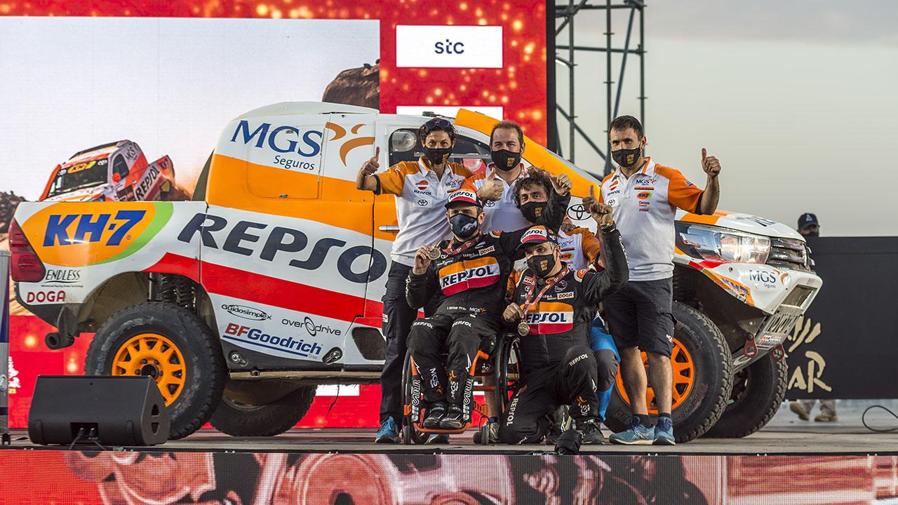 Dakar 2021 día 12: Isidre Esteve acaba contento por ser más competitivo que nunca