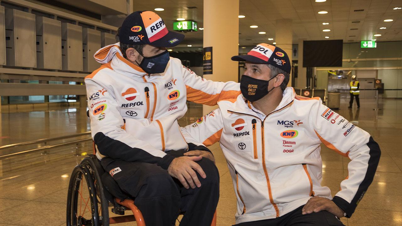 Isidre Esteve a su Regreso del Dakar 2021 con Txema Villalobos