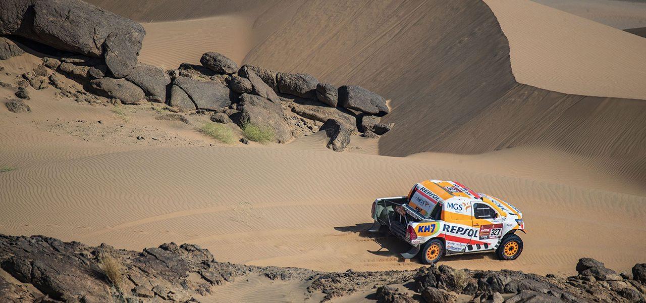 Dakar 2021 día 4: Día de transición para Isidre Esteve, con la mirada puesta en la remontada