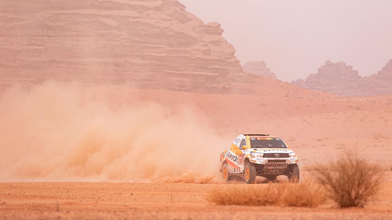 """Dakar 2021 día 10: Isidre Esteve supera una etapa que califica de """"horrible"""""""