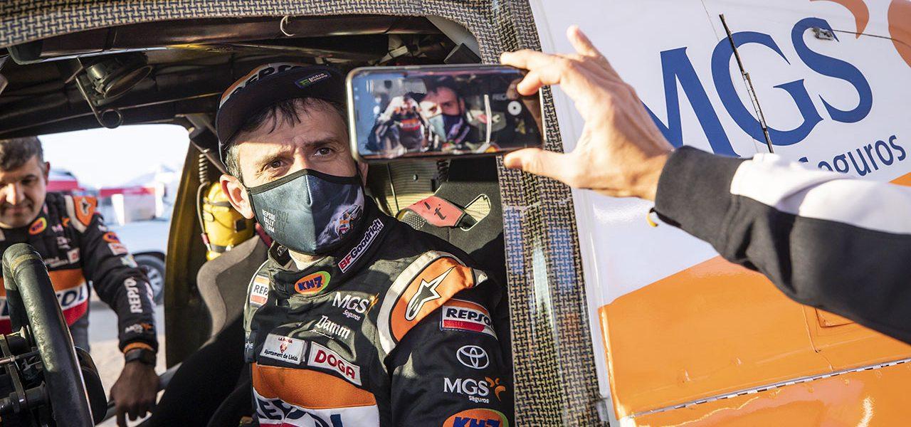 Dakar 2021 día 5: Zarpazo de Isidre Esteve en la quinta etapa del Dakar