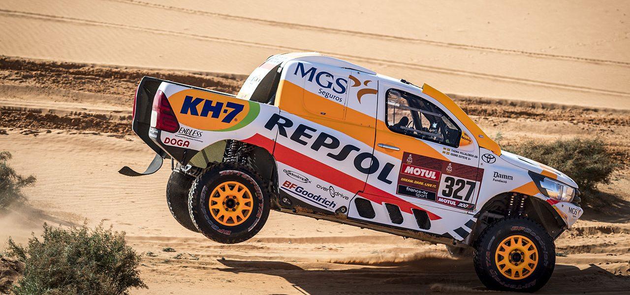 Dakar 2021 día 6: Isidre Esteve llega a la etapa de descanso situado en el top 20