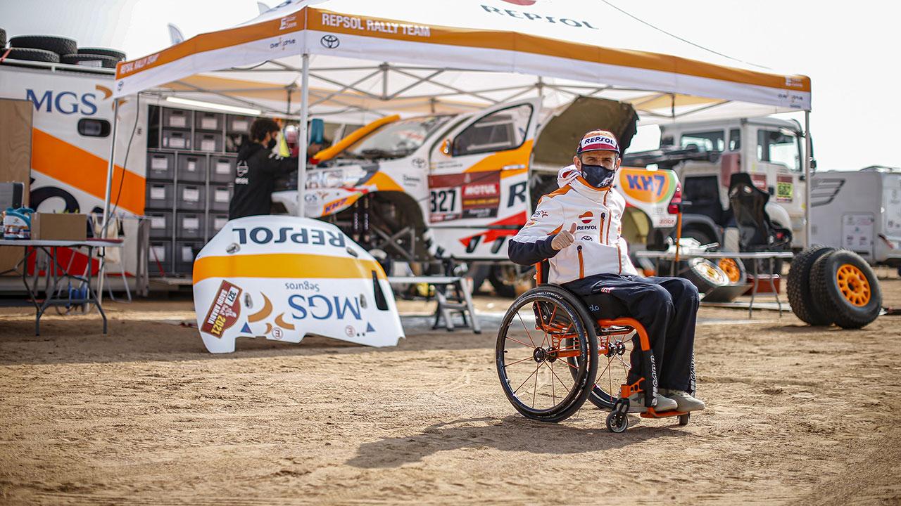 Dakar 2021 día de descanso: Isidre Esteve nos abre las puertas de su casa en el Dakar