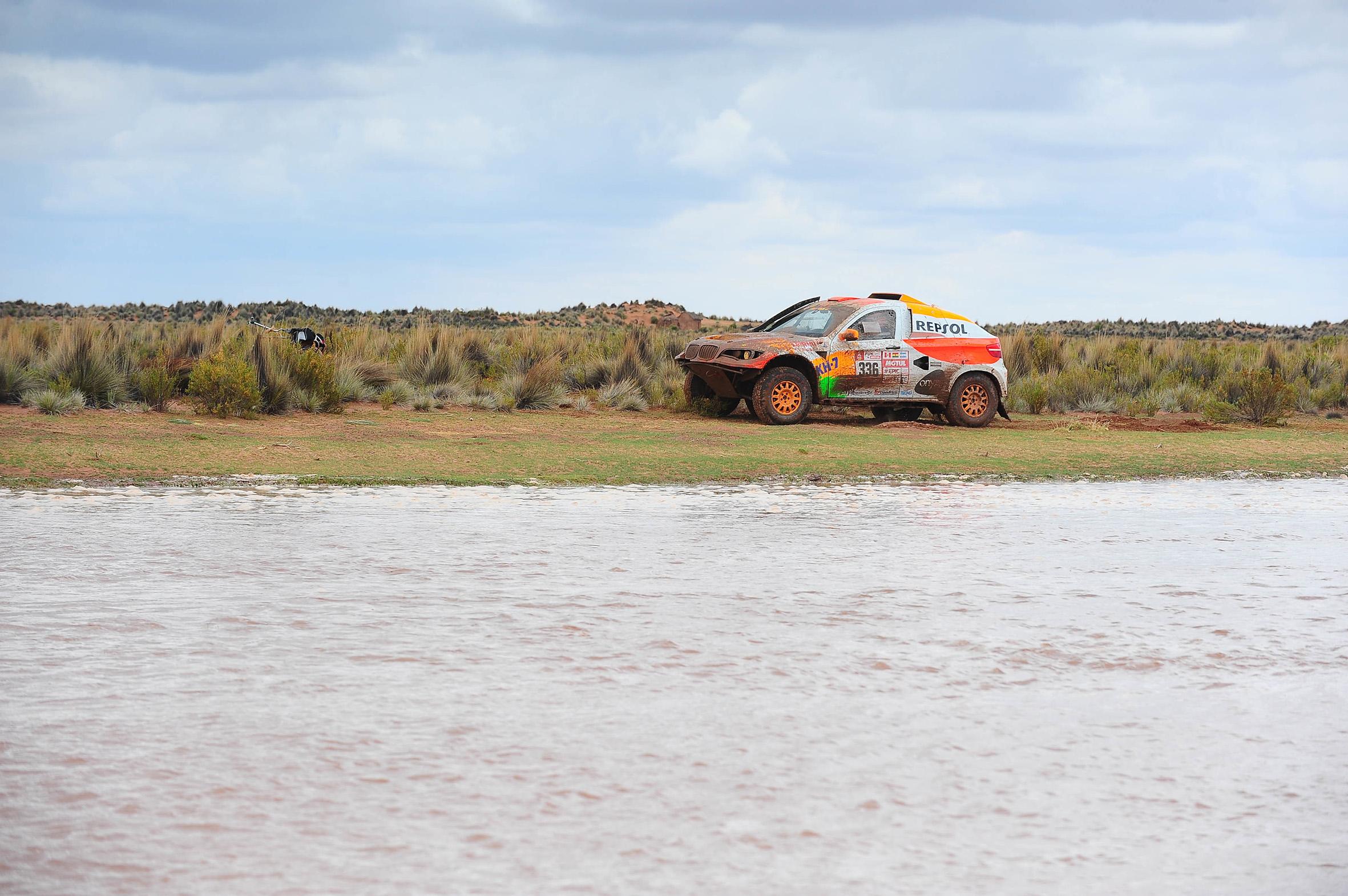 Isidre esteve agua Dakar 2018