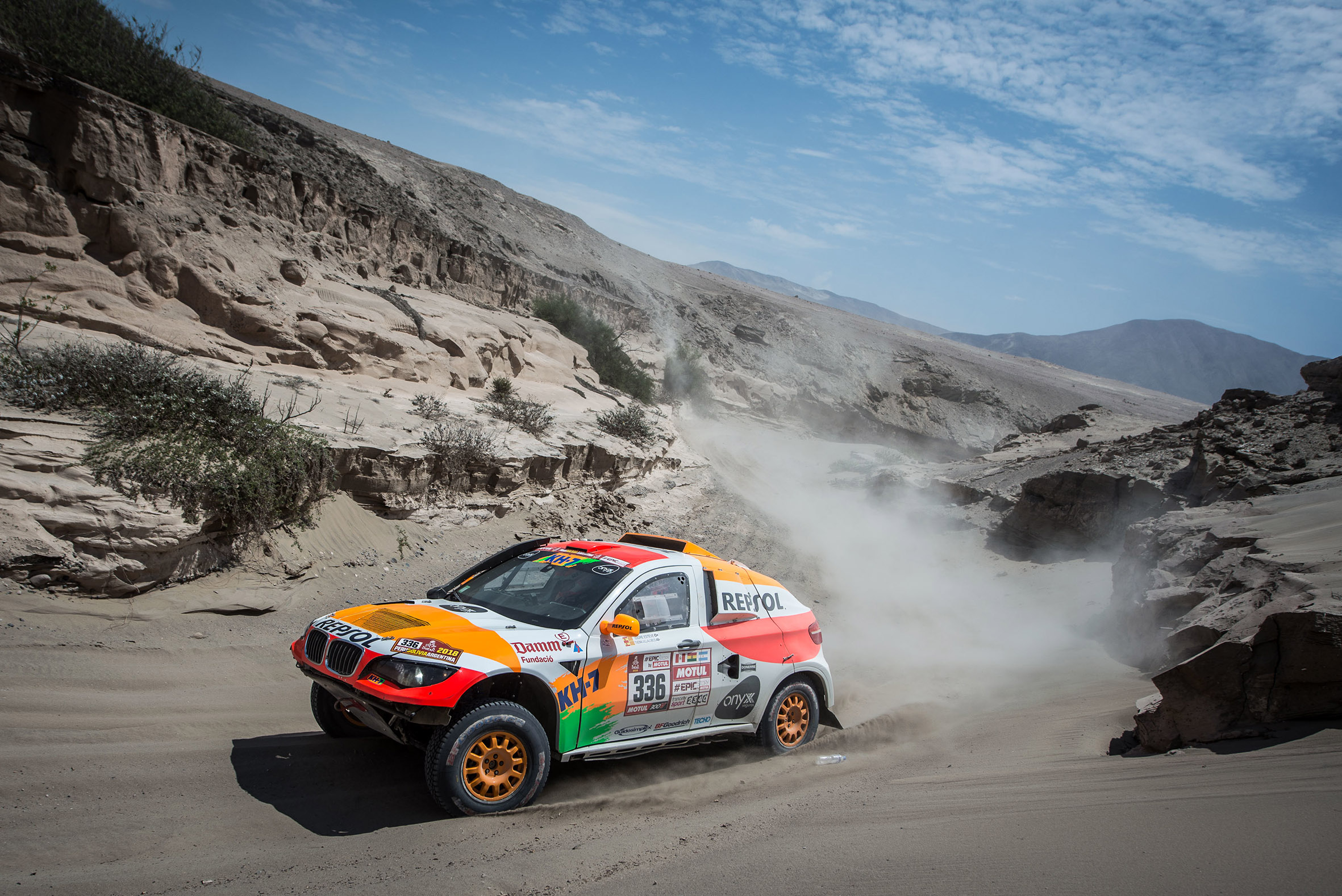 Isidre Esteve pista de arena Dakar 2018